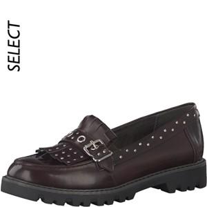 Tamaris-Schuhe-Slipper-BORDEAUX-BRUSH-Art.:1-1-24303-29/551-TP