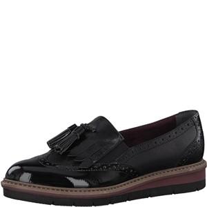 Tamaris-Schuhe-Slipper-BLK/BLK-PATENT-Art.:1-1-24335-39/049
