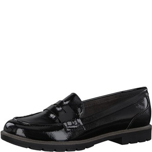 Tamaris-Schuhe-Slipper-BLACK-PATENT-Art.:1-1-24660-20/018