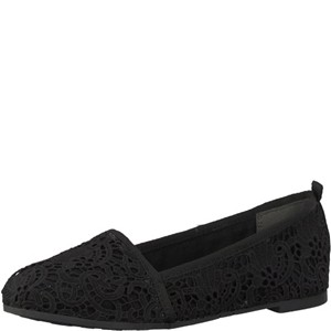 Tamaris-Schuhe-Slipper-BLACK-MACRAMEE-Art.:1-1-24668-20/014