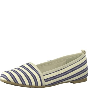 Tamaris-Schuhe-Slipper-NAVY-STRIPES-Art.:1-1-24668-20/865