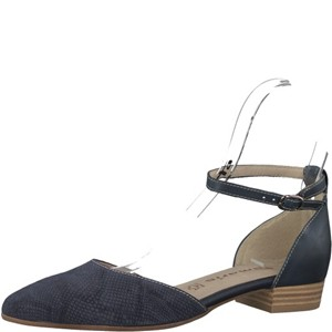 Tamaris-Schuhe-Slipper-NAVY/STRUCTURE-Art.:1-1-24227-20/854