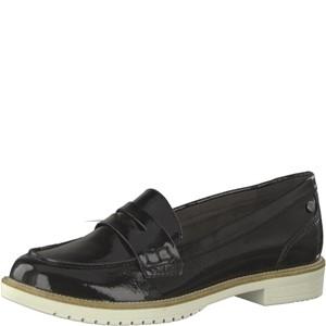 Tamaris-Schuhe-Slipper-BLACK-PATENT-Art.:1-1-24660-22/018