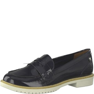 Tamaris-Schuhe-Slipper-NAVY-PATENT-Art.:1-1-24660-22/826