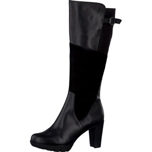 Tamaris-Schuhe-Stiefel-BLACK-COMB-Art.:1-1-25515-27/098