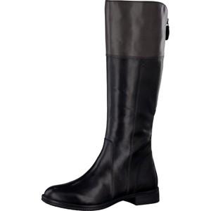 Tamaris-Schuhe-Stiefel-BLK/GRAPHITE-Art.:1-1-25530-27/050