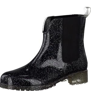 Tamaris-Schuhe-Stiefelette-BLACK/SILVER-Art.:1-1-25445-38/090