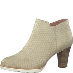 Tamaris-Schuhe-Stiefelette-CREAM-STRUCT.-Art.:1-1-25309-28/481