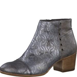 Tamaris-Schuhe-Stiefelette-GREY-METALLIC-Art.:1-1-25701-28/297