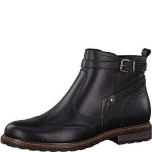 Tamaris-Schuhe-Stiefelette-BLACK-UNI-Art.:1-1-25004-29/007