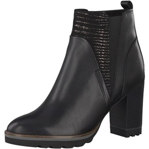 Tamaris-Schuhe-Stiefelette-BLACK-COMB-Art.:1-1-25032-29/098