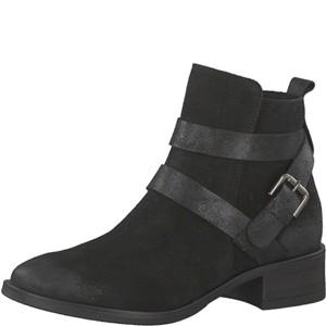 Tamaris-Schuhe-Stiefelette-BLACK-Art.:1-1-25053-29/001