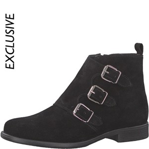 Tamaris-Schuhe-Stiefelette-BLACK-Art.:1-1-25082-29/001