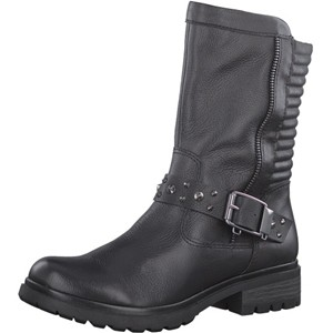 Tamaris-Schuhe-Stiefelette-BLACK-Art.:1-1-25420-29/001