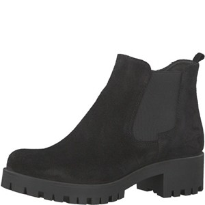 Tamaris-Schuhe-Stiefelette-BLACK-UNI-Art.:1-1-25435-29/007