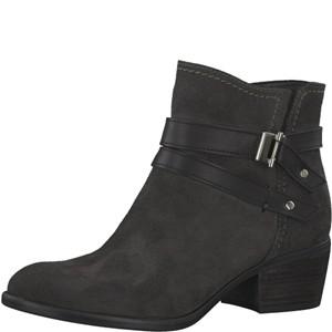 Tamaris-Schuhe-Stiefelette-ANTHRACITE/BLK-Art.:1-1-25010-29/220
