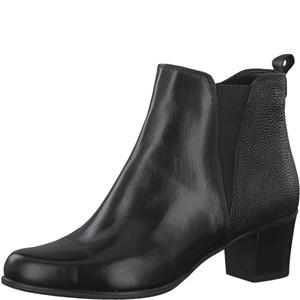 Tamaris-Schuhe-Stiefelette-BLACK-Art.:1-1-25072-29/001