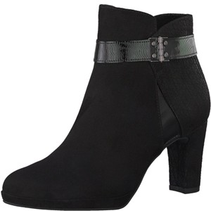Tamaris-Schuhe-Stiefelette-BLACK-COMB-Art.:1-1-25370-29/098