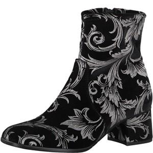 Tamaris-Schuhe-Stiefelette-BLACK-COMB-Art.:1-1-25918-39/098