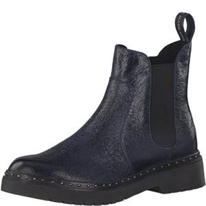 Tamaris-Schuhe-Stiefelette-NAVY-STRUCTURE-Art.:1-1-25953-39/855