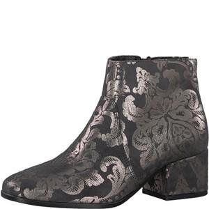 Tamaris-Schuhe-Stiefelette-ANTHRAC/PEWTER-Art.:1-1-25967-39/292