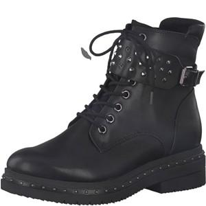 Tamaris-Schuhe-Stiefelette-BLACK-MATT-Art.:1-1-25113-21/020