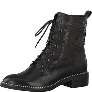 Tamaris-Schuhe-Stiefelette-BLACK-Art.:1-1-25118-21/001