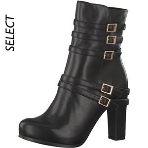 Tamaris-Schuhe-Stiefelette-BLACK--Art.:1-1-25300-21/003-MO
