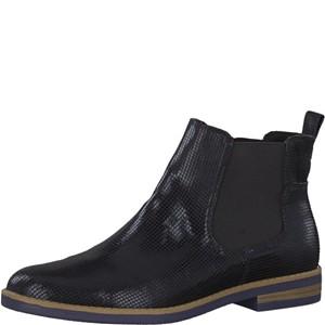 Tamaris-Schuhe-Stiefelette-BLACK-STRUCT.-Art.:1-1-25313-21/006