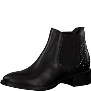 Tamaris-Schuhe-Stiefelette-BLACK-Art.:1-1-25346-21/001