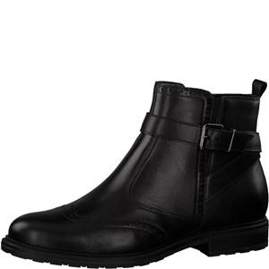 Tamaris-Schuhe-Stiefelette-BLACK-UNI-Art.:1-1-25004-21/007