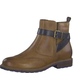 Tamaris-Schuhe-Stiefelette-NUT-COMB-Art.:1-1-25004-21/441