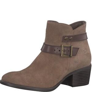 Tamaris-Schuhe-Stiefelette-TAUPE/ESPRESSO-Art.:1-1-25010-21/346