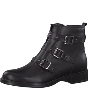 Tamaris-Schuhe-Stiefelette-BLACK-Art.:1-1-25011-21/001