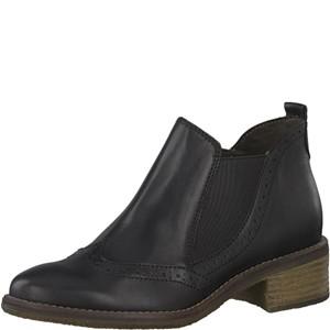 Tamaris-Schuhe-Stiefelette-BLACK-Art.:1-1-25075-21/001