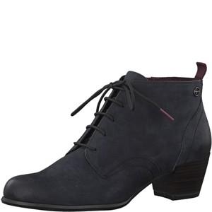 Tamaris-Schuhe-Stiefelette-NAVY-NUBUC-Art.:1-1-25115-21/827