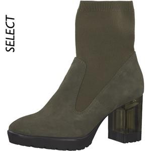 Tamaris-Schuhe-Stiefelette-OLIVE-Art.:1-1-25304-21/722-MO