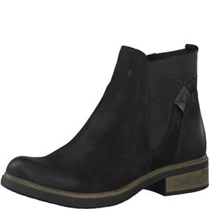 Tamaris-Schuhe-Stiefelette-BLACK-UNI-Art.:1-1-25317-21/007