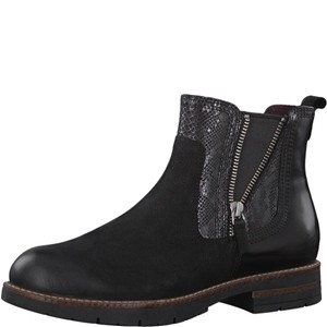 Tamaris-Schuhe-Stiefelette-BLACK-COMB-Art.:1-1-25426-21/098