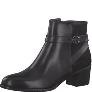 Tamaris-Schuhe-Stiefelette-BLACK/BLK-MET.-Art.:1-1-25390-21/091