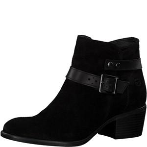 Tamaris-Schuhe-Stiefelette-BLACK-UNI-Art.:1-1-25010-21/007