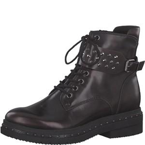 Tamaris-Schuhe-Stiefelette-BORDEAUX-BRUSH-Art.:1-1-25113-21/551